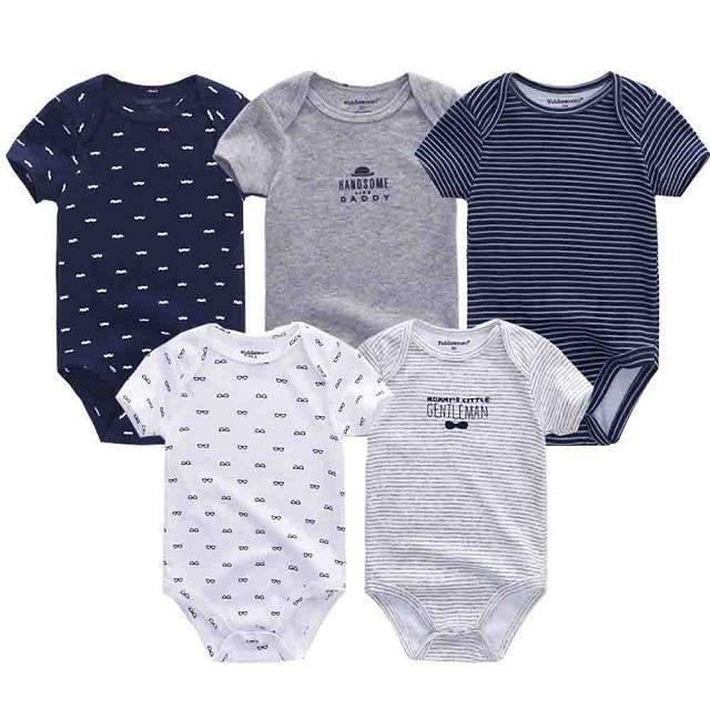 Newborn Baby Boy Cartoon Romper Bodysuit Cotton Jumpsuit Playsuit Clothes Outfit