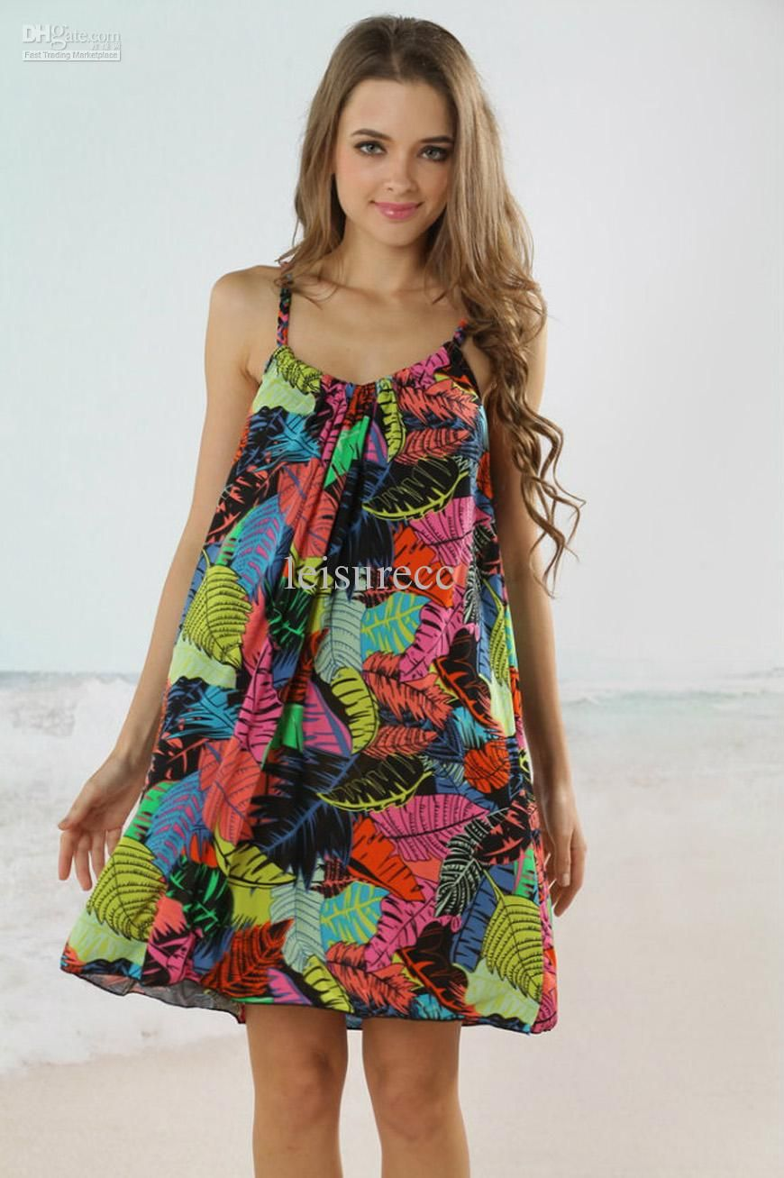 61ab0f1496 Wholesale Beach Dress - Buy Beach Dress Beach Skirt Pareo Swim Coverup  Tankini Wrap Skirt Swimwear Manual Sleeveless Low Cut FeD, $14.89 | D..