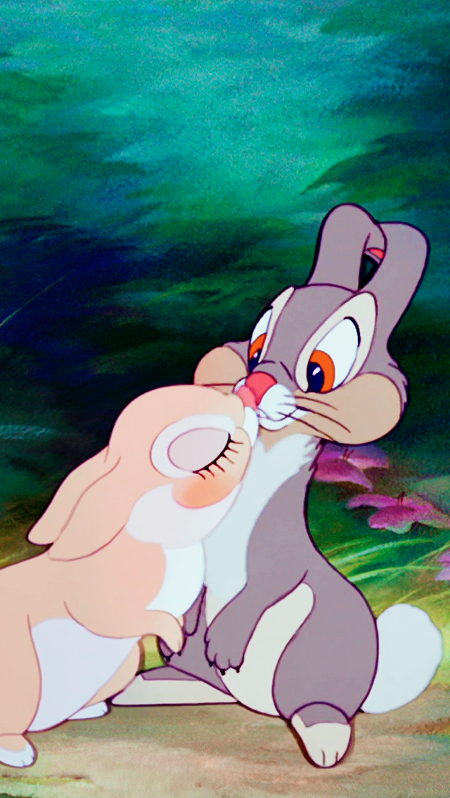 *MISS BUNNY & THUMPER ~ Bambi, 1942
