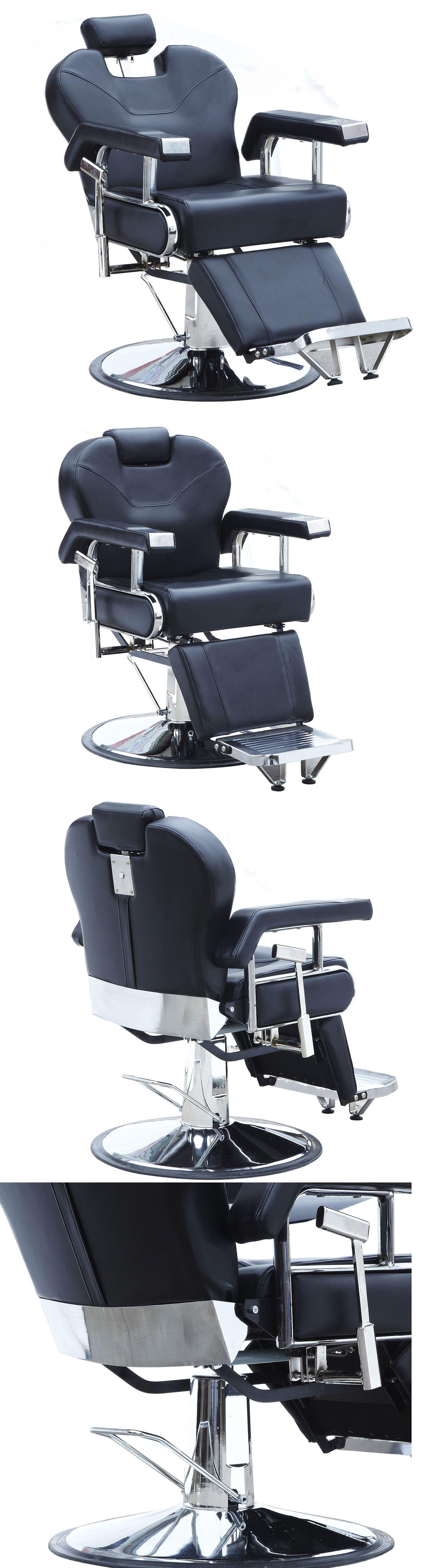 Salon and Spa Supplies Black Fashion Hydraulic Recline Barber