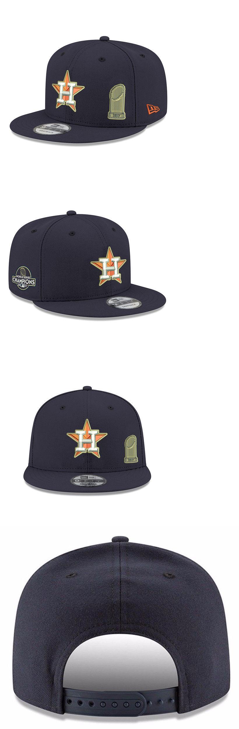 b0287511d72ff Baseball-MLB 24410  Houston Astros New Era World Series Champions Trophy  Patch 950 Snapback