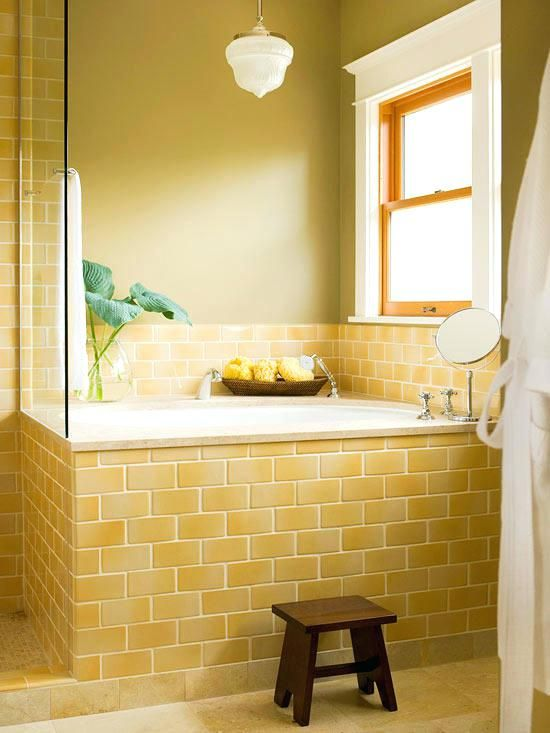 Image result for yellow subway tile | Subway tiles ...