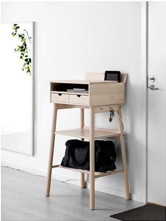 Knotten Stehtisch Weiss Birke In 2019 Stehtisch Ikea