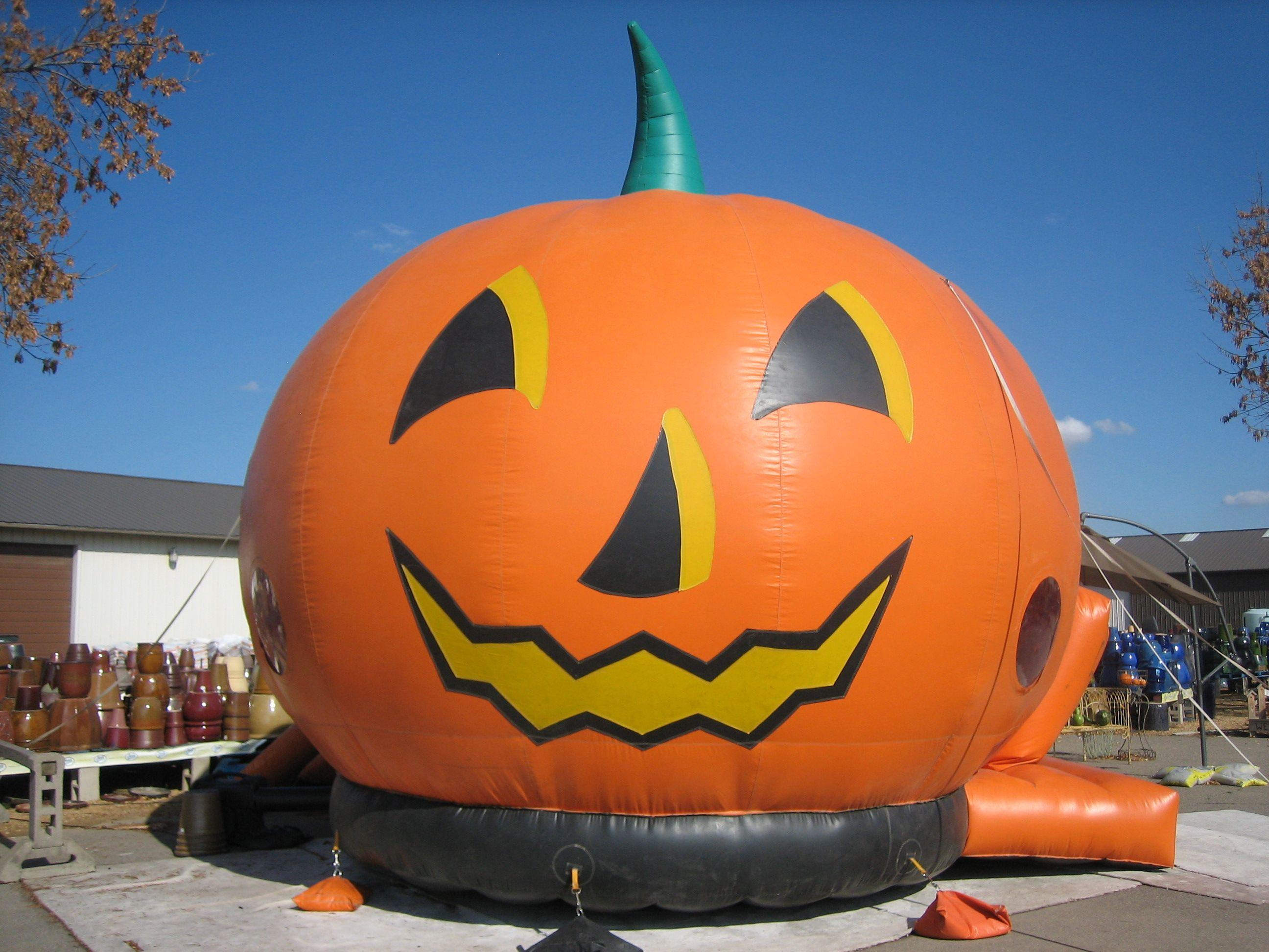 The kids love Pahl's Bouncy Pumpkin