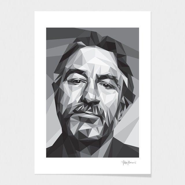 Robert Traxon Graphic Design: Robert De Niro Fine Art Prints By Filip Peraić