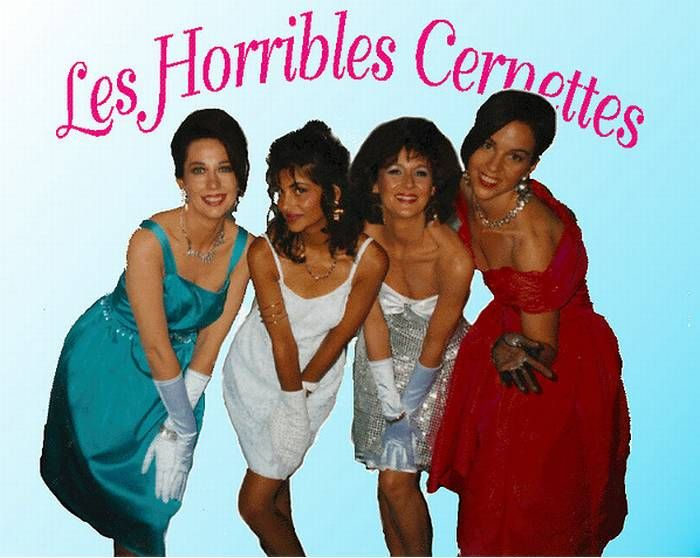 Les Horribles Cernettes; primera imagen en la historia de la WEB