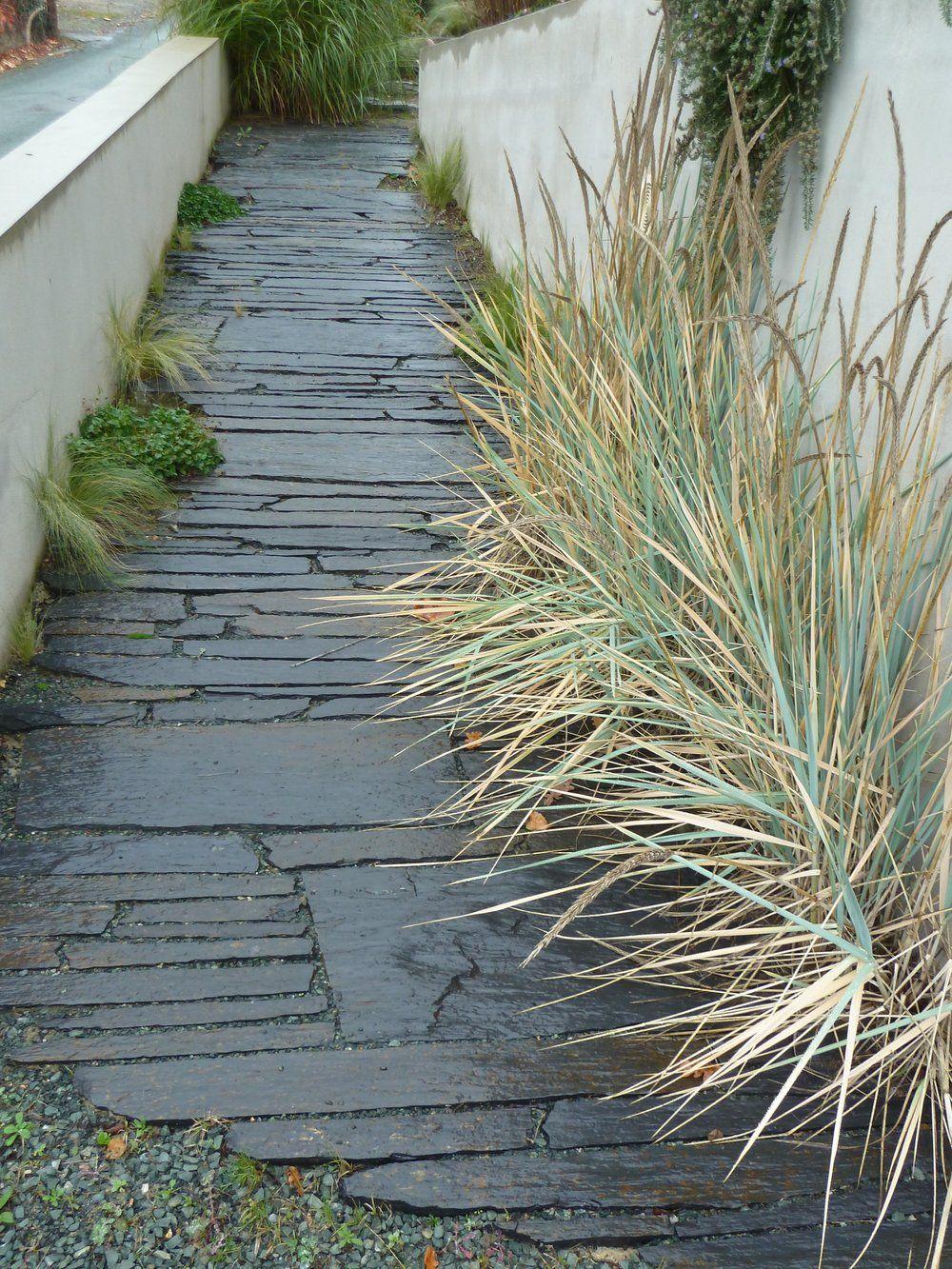Schiste   matériaux jarde   Pinterest   Pavement and Gardens