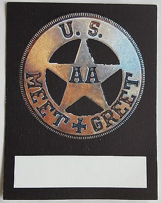 Adam ant\/ the ants #official us tour meet and #greet #fabric pass - tour consultant sample resume