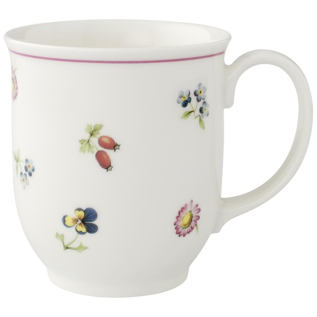 Charm Breakfast Petite Fleur Mug 0 42l Villeroy Boch Mugs Glassware Villeroy Boch