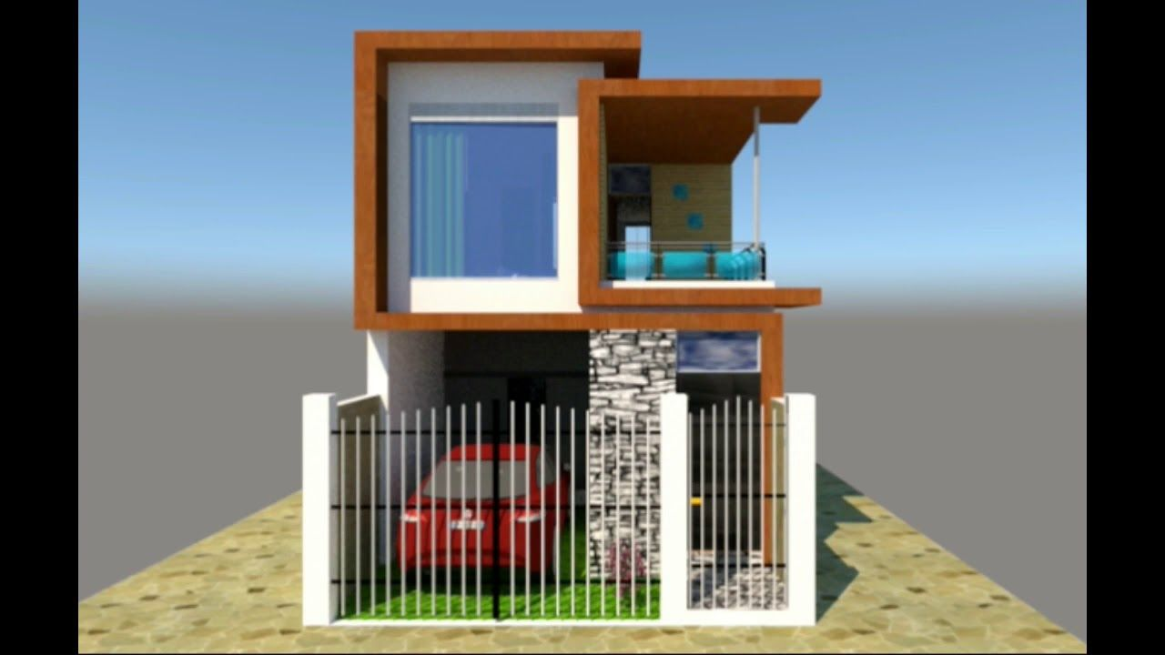 Casa Moderna 5x15 Remodelada Con Cochera Youtube Diseno De Casas Sencillas Planos De Casas Pequenas Modernas Fachadas De Casas Chicas