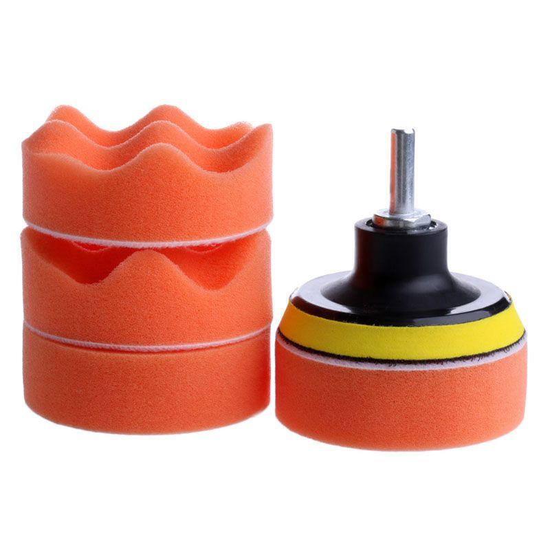 Drill Adapter Newest 7 Pcs Auto Car Buffing Pad Polishing Wheel Kit Buffer