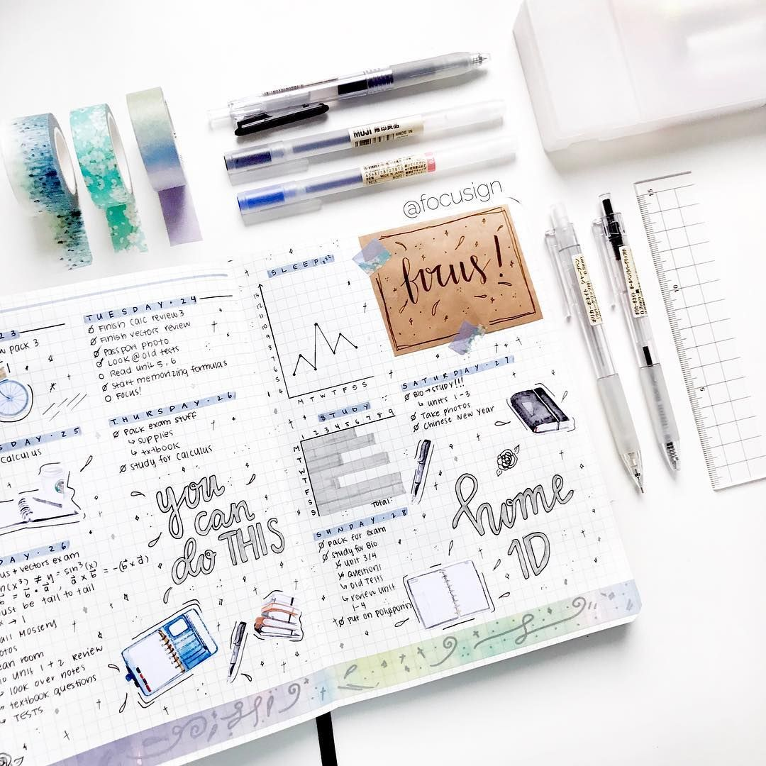 #studyblr #studygram #study #bulletjournal #bujo #notes # ...