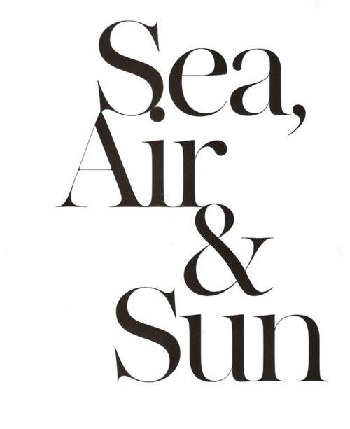 Sea, Air, & Sun