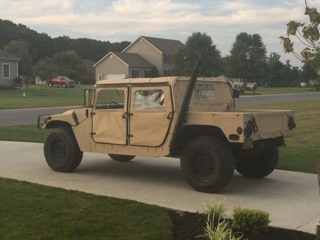 Hummer AM General M998 Humvee HMMWV with le, Street Legal! for ...
