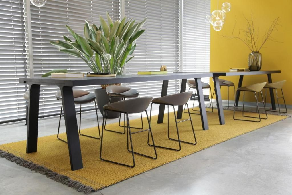 Aronson's Floor Covering, Style Chalet, Color Yellow