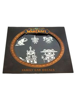 World of Warcraft Family Car Decals