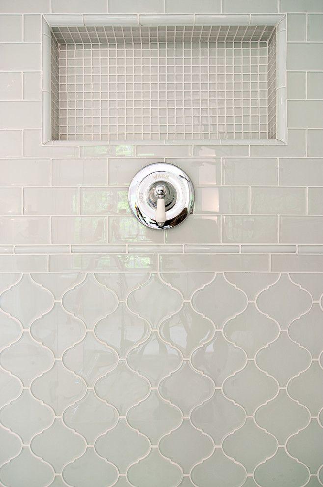 15+ Luxury Bathroom Tile Patterns Ideas | Bath, Bathroom tiling ...