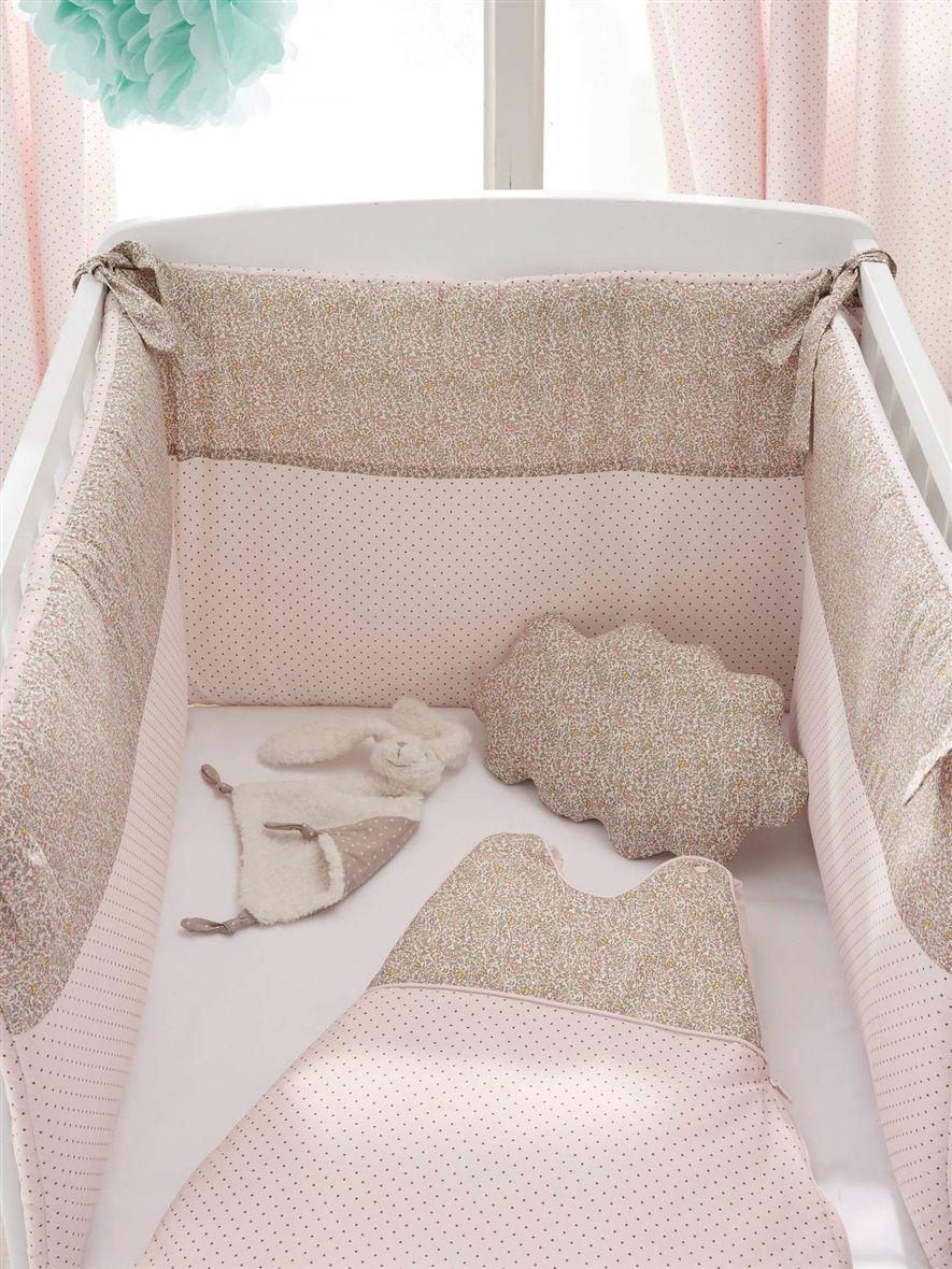 tour de lit pois liberty la maison vetement et d co cyrillus id es chambre bb pinterest. Black Bedroom Furniture Sets. Home Design Ideas
