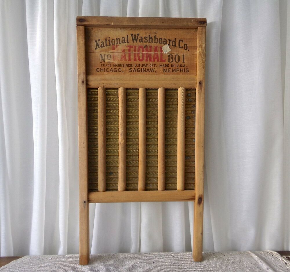 Vintage National Washboard Wood And Brass Original Price Sticker Laundry Room With Images Vintage Laundry Room Vintage Laundry Room Decor Vintage Laundry