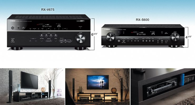 RX-S600 - RX-S - AV Receivers - Audio & Visual - Products - Yamaha United States