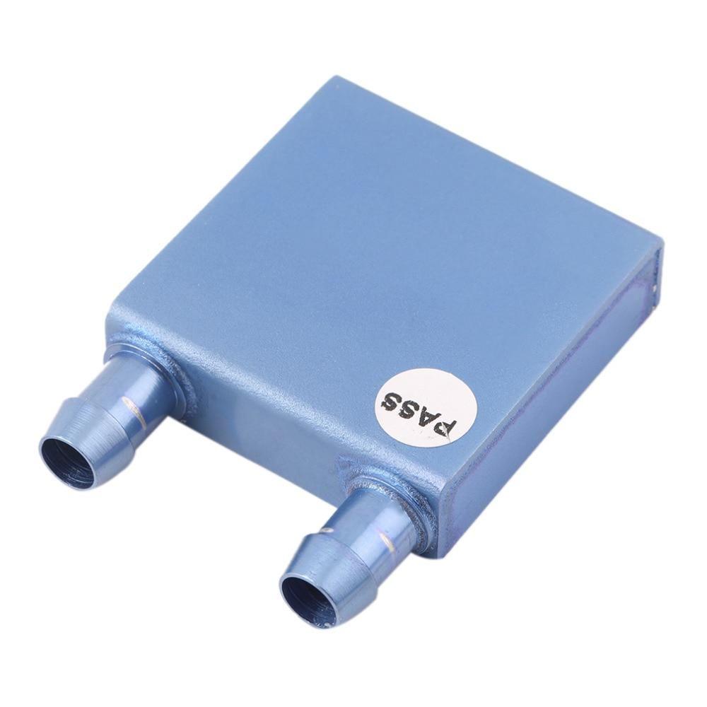 40 40 12mm Aluminium Water Cooling Heatsink Block Waterblock