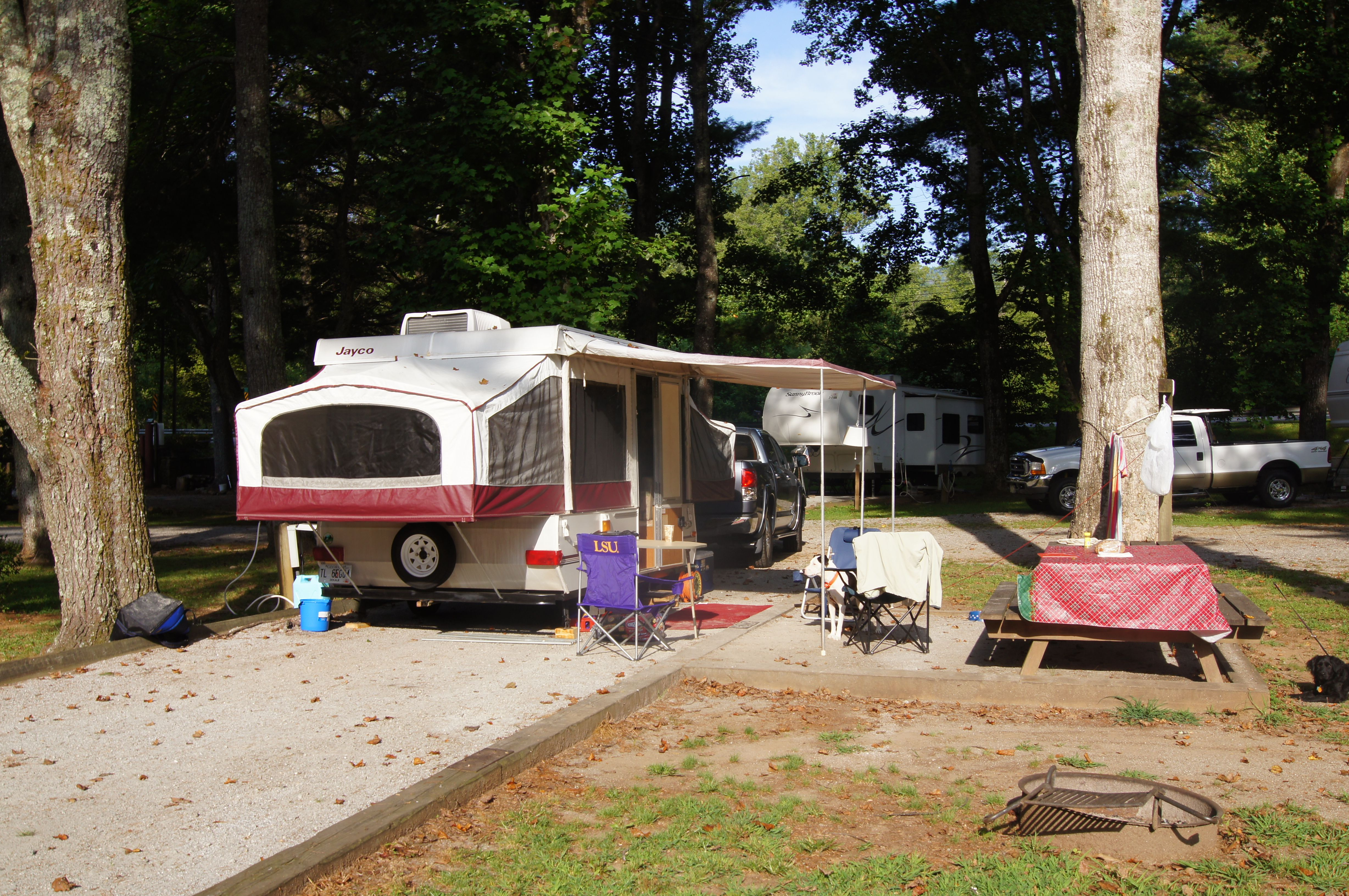 Moccasin Creek State Park Ga Our First Trip With The Pop Up Camper