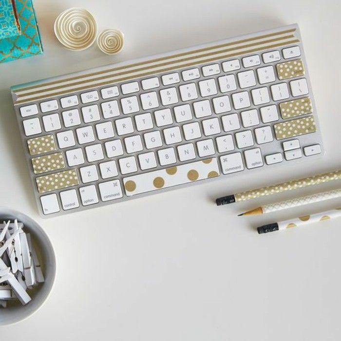 99 washi tape ideen was k nnen sie damit dekorieren for Schreibtisch dekorieren diy
