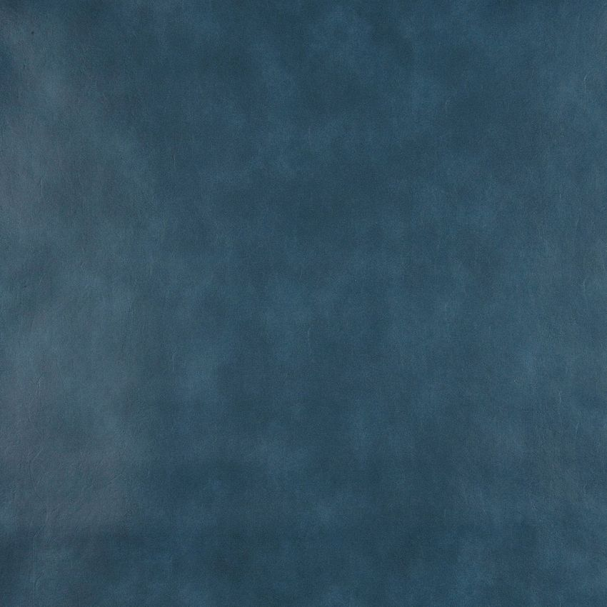 Dark Blue Aqua and Dark Blue Plain Light Animal Hide Texture Automotive Vinyl Upholstery Fabric
