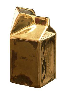 Gold milk jug
