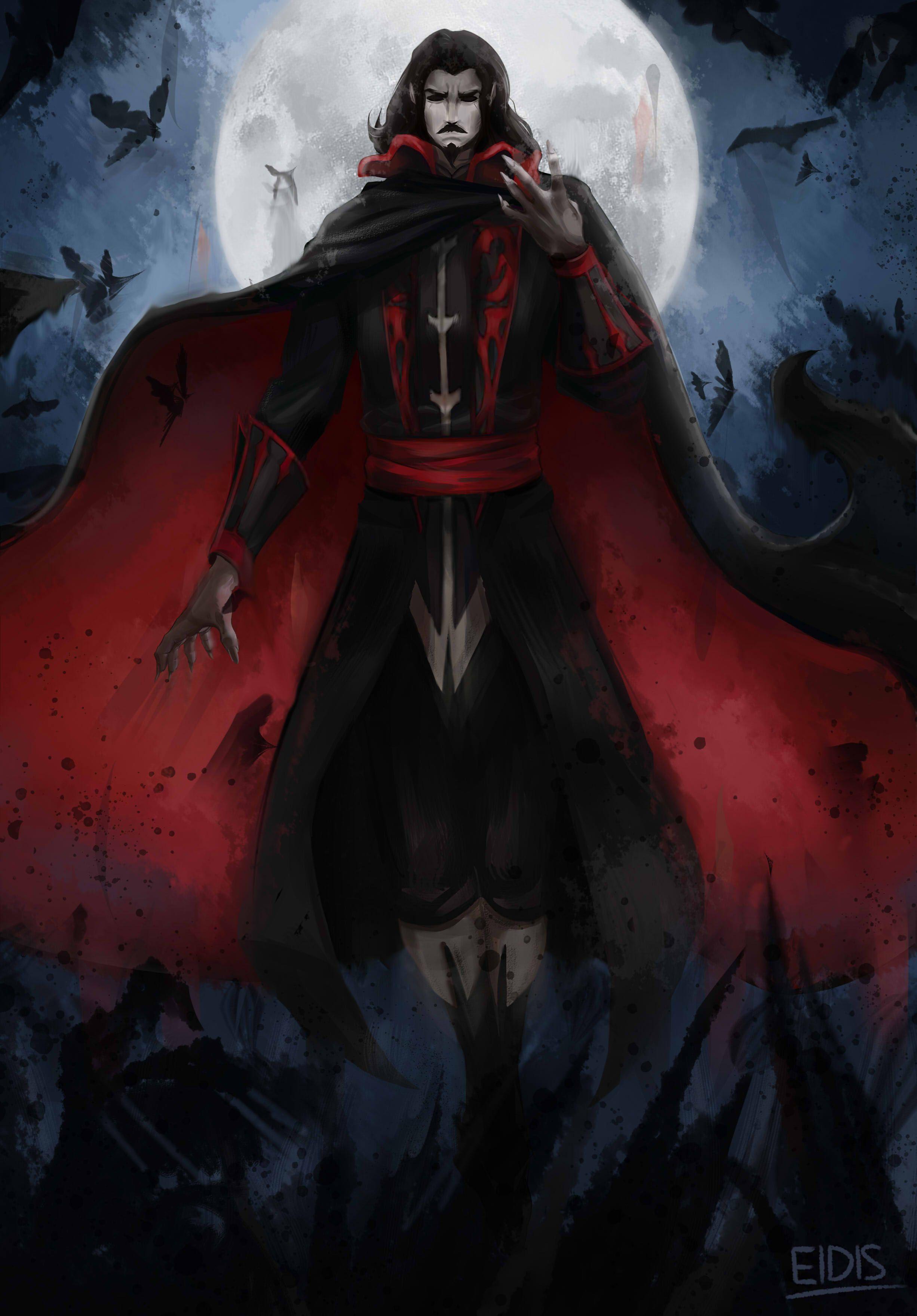 Castlevania Dracula Vampire Art Castlevania Lord Of Shadow Dracula Art