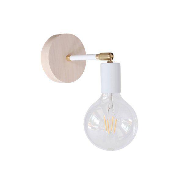 Einstellbare Holz Wand Leuchte Licht Flush Mount Decke Beleuchtung Gold Lampe Modernes Home Dekor Led Gluhbirnen Beleuchtung Decke Lampen