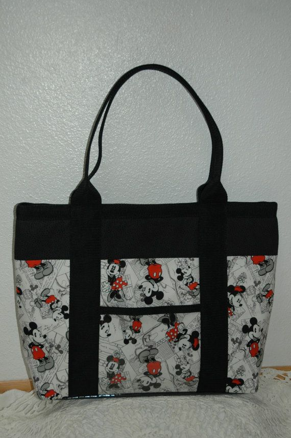 Disney Handmade Fabric Handbag Tote Computer Bag Or Purse Made From For All Occasions The Lena In 2018 Purses Pinterest