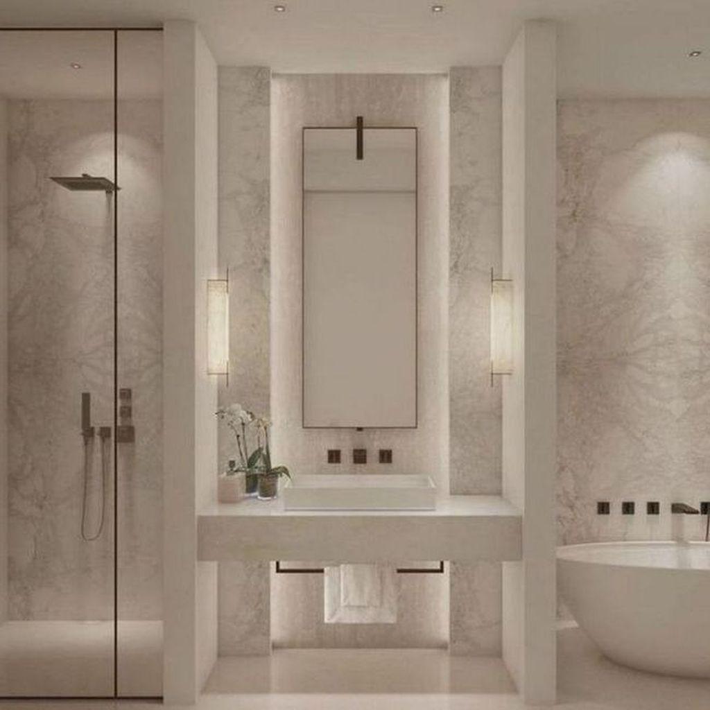 Stunning Romantic Bathroom Ideas That You Never Seen Before In 2020 Bathroom Interior Design Bathroom Remodel Master Luxury Bathroom
