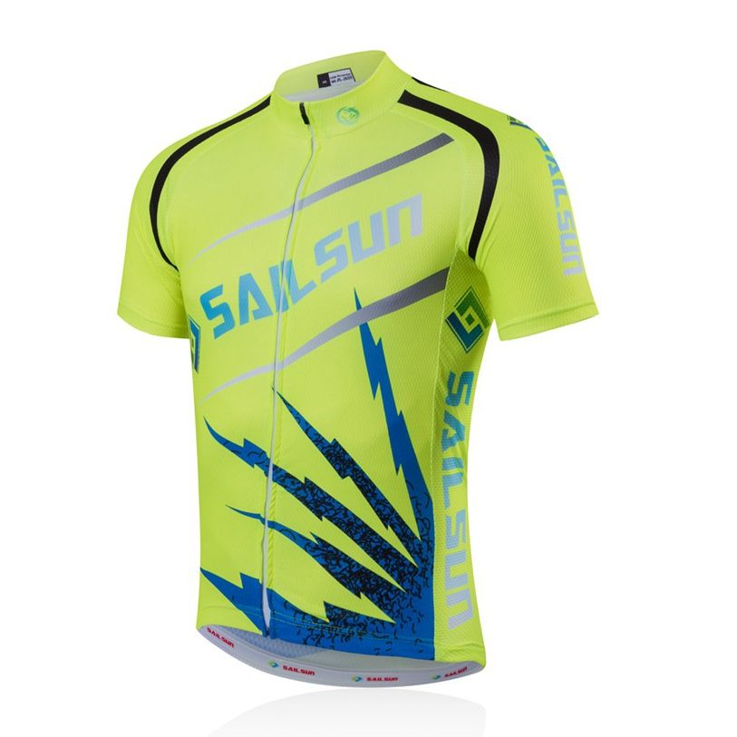 241fc2a75 Green SAIL SUN Men Pro Cycling Jersey Top COOL Blue Bicycle Clothing Male  Team mtb Summer Bike Shirts Jacket Quick Dry  Affiliate