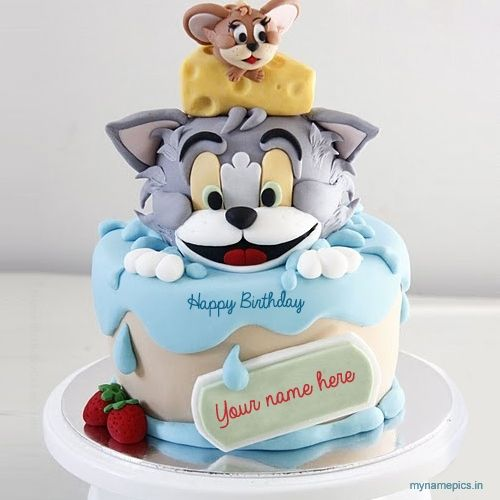 Birthday Cakes With Name Vaishali ~ Birthday cake images with name cakes pinterest