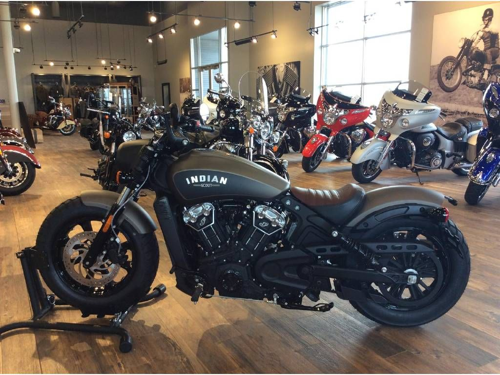 2018 Indian Scout Bobber Cruiser (69ci fuel injected water