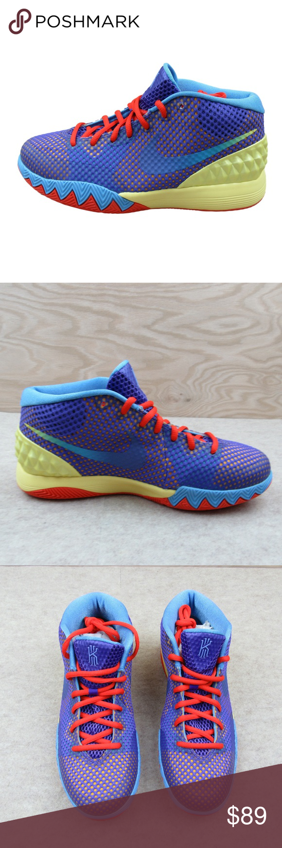 ca766154529f Nike Kyrie 1 GS Size 6.5Y Basketball Shoes NEW Nike Kyrie 1 GS Lemon Frost