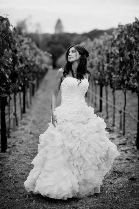 46 Beautiful Vineyard Wedding Dresses