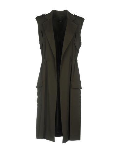 PINKO Women's Overcoat Dark green 6 US