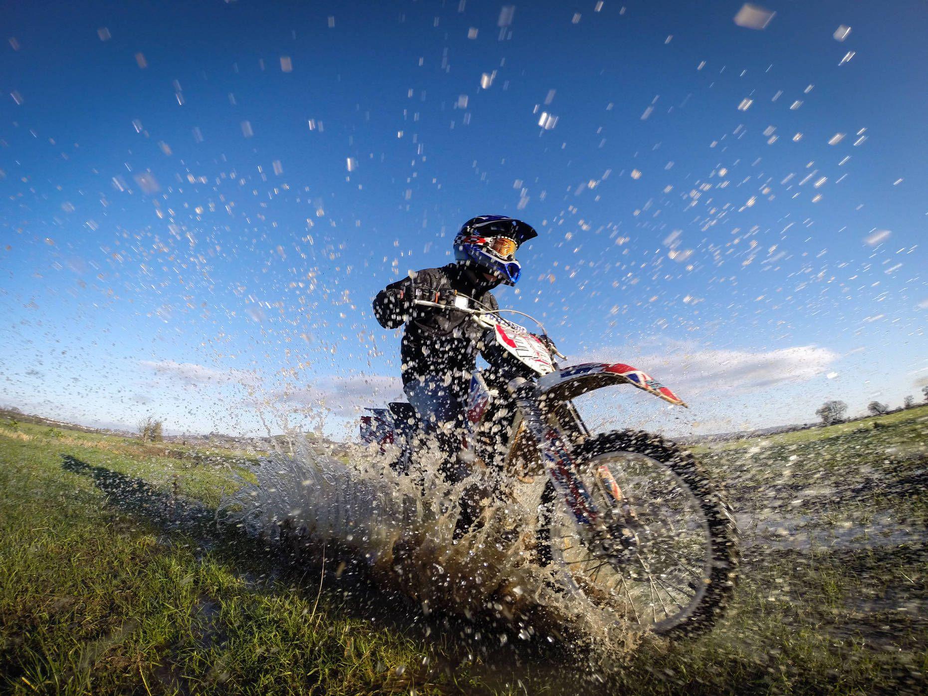 Moto Ride Through The Floodwaters Of Glastonbury Photo By Matt - 33 incredible photos taken gopro