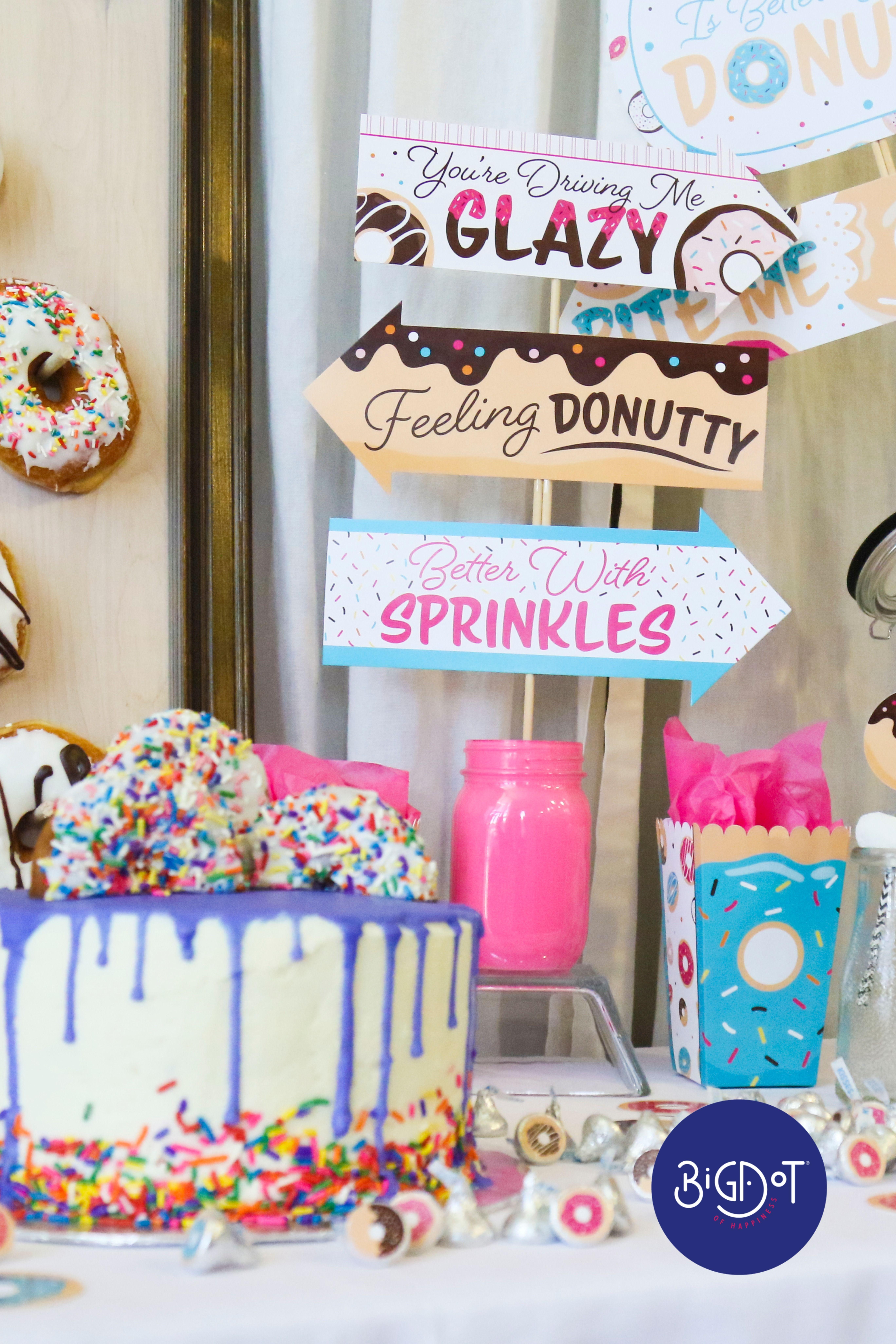 Diy Doughnut Party In 2021 Donut Birthday Parties Doughnut Party Donut Themed Birthday Party
