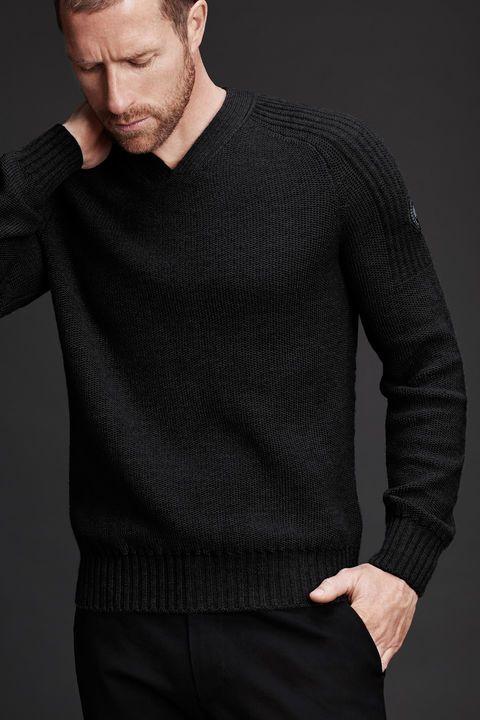 canada goose mens knitwear