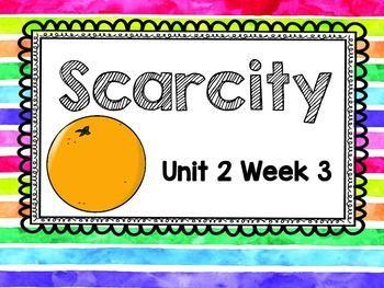 Second Grade Reading Street - Scarcity - Unit 2 Week 3 | 2nd