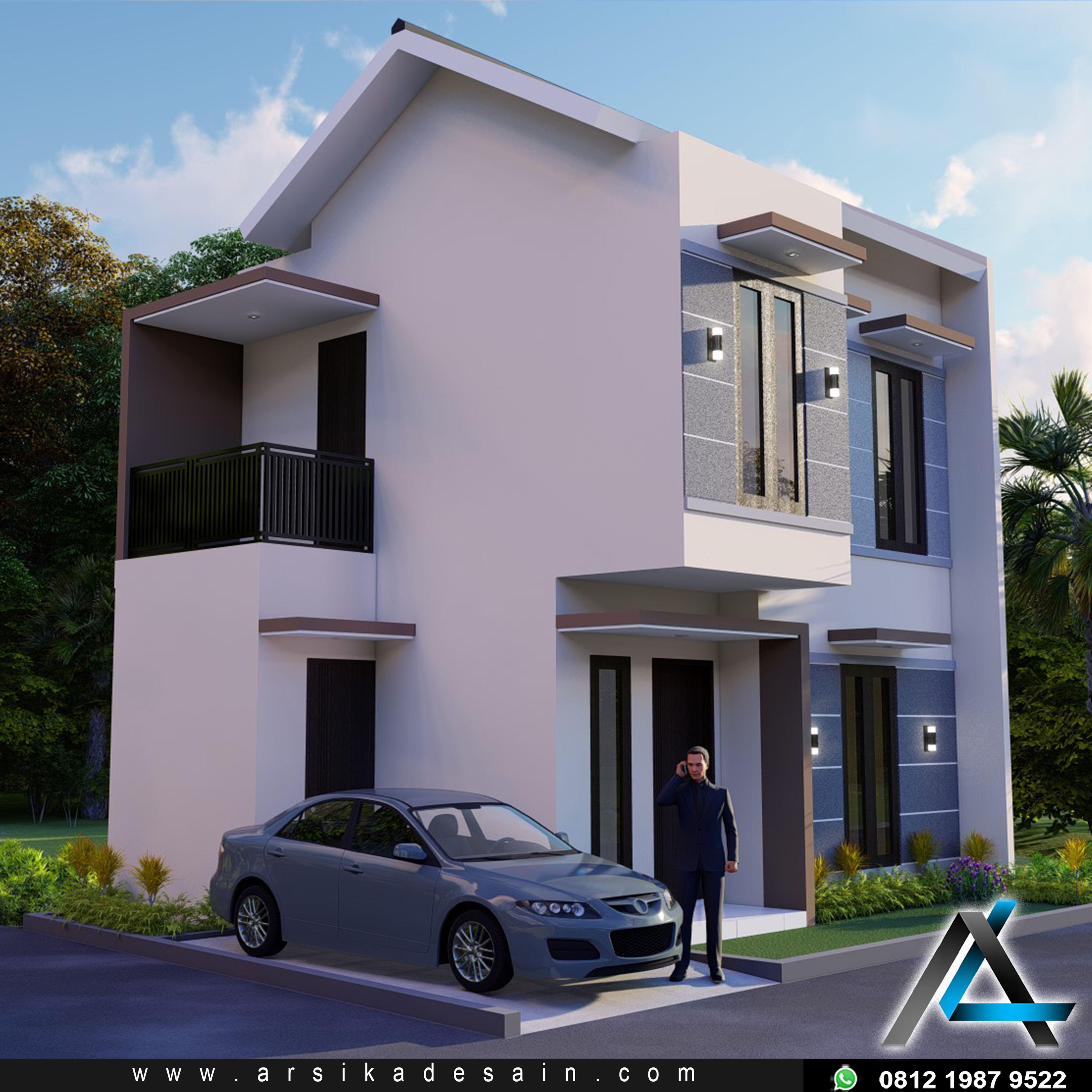 Desain Rumah Modern Minimalis Arsitek Arsitektur Rumah