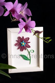 How to make  simple paper frame at inna   creations crafts kids quilling also  tutorial pinterest frames rh in