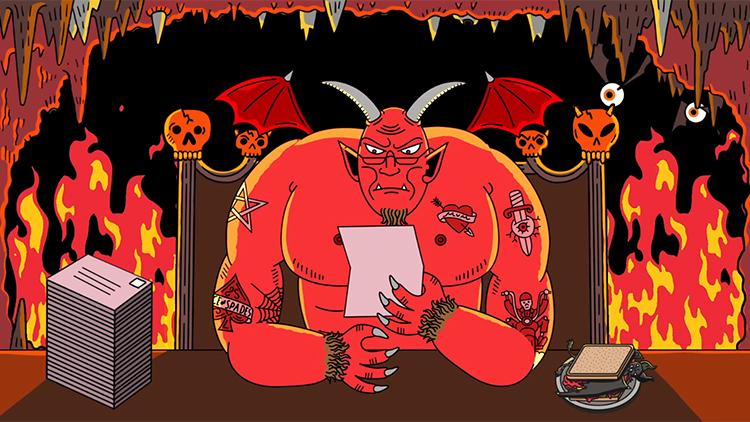 'Dear Satan', An Animated Short About a Girl Who