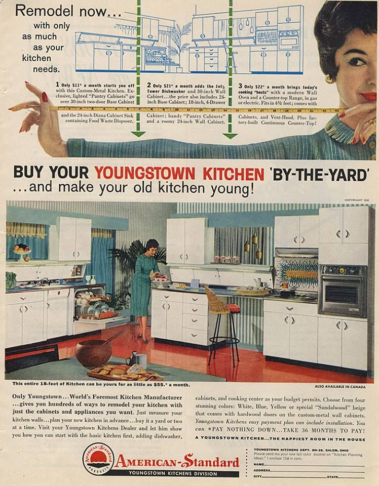 Pin By Mikrofile On Youngstown Youngstown 1950s Kitchen Kitchen Manufacturers