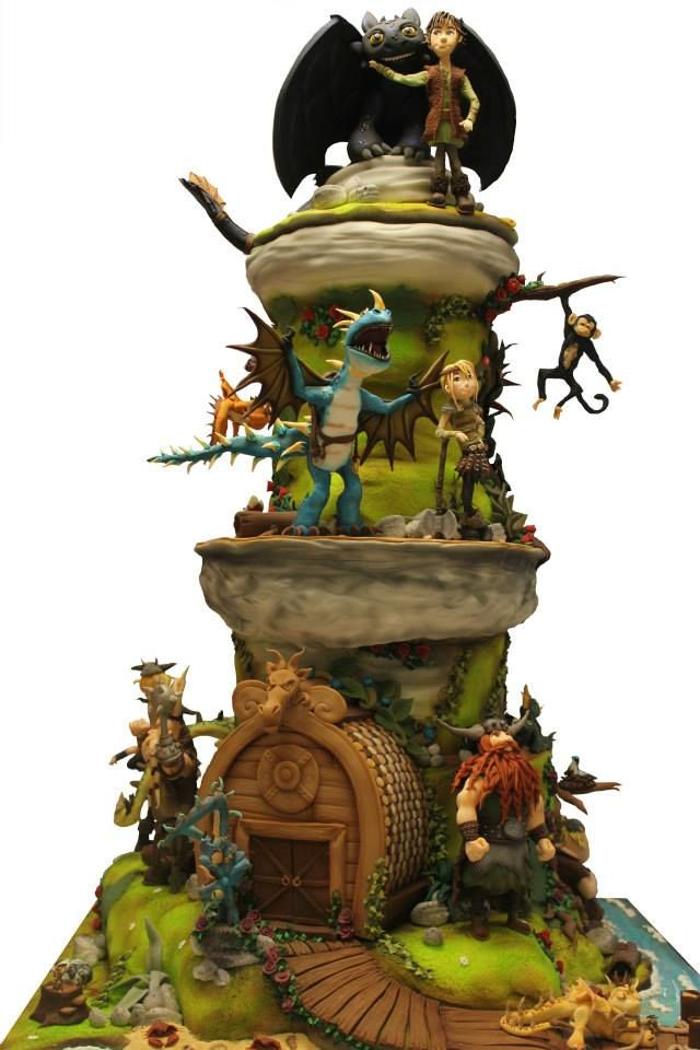 A cake story of how to train your dragon dragon cakes dragons and a cake story of how to train your dragon ccuart Images