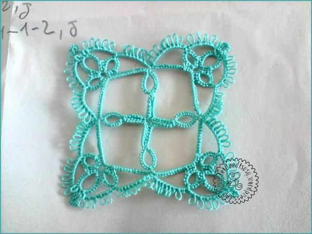 (11) Name: 'Other : Little Tatting square
