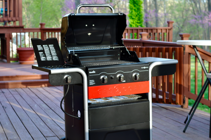 My Review Of The New Charbroil Gas 2 Coal Hybrid Grill You Can With Either Or Charcoal In Same Chamber When Using Use